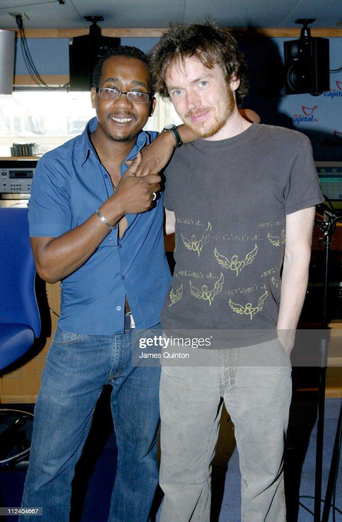 Damien Rice Visits Capital Radio - June 21, 2005