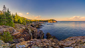Schooner Head Panorama, Acadia National Park