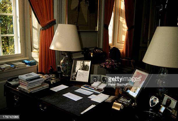 Schreibtisch der Königin Margrethe II von Dänemark Dänisches Königshaus
