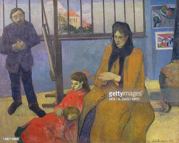 Schuffenecker's workshop by Paul Gauguin oil on canvas 73x92 cm Paris Musée D'Orsay
