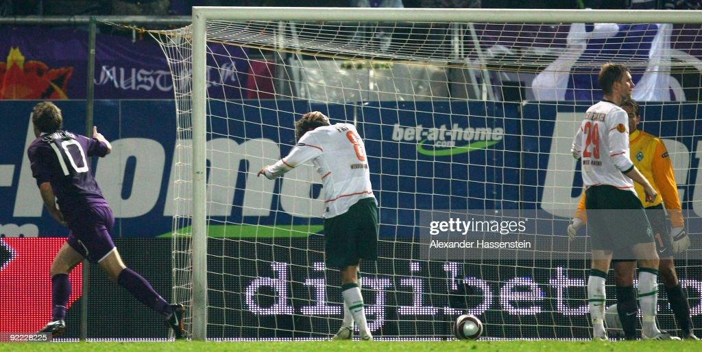 FK Austria Vienna v Werder Bremen - UEFA Europa League