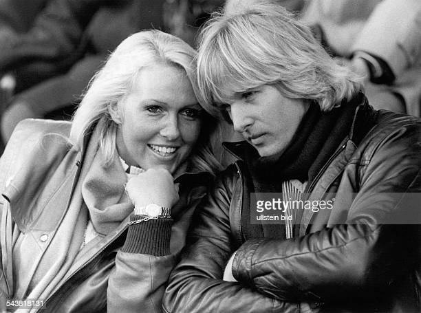 Schuster Bernd *Soccer player Germanywith his wife Gaby 1982