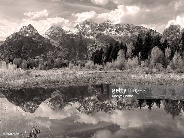 Schwabacher Landing-black and white
