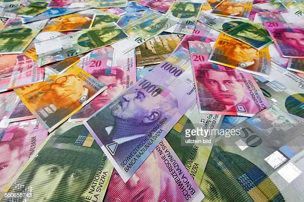 Schweizer Franken Geld und Währung der Schweiz