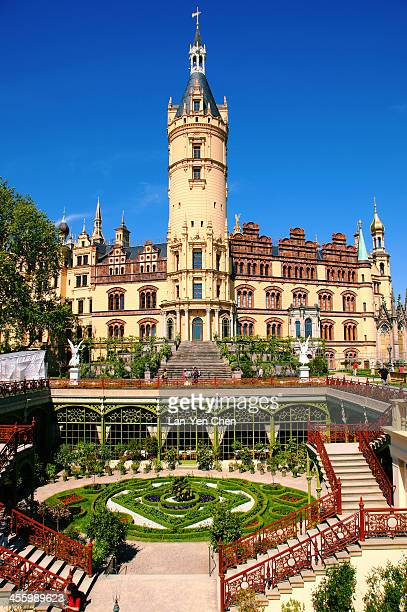 CONTENT] Schwerin Castle situated on a small island in Schwerin Lake is the most beautiful federal state parliament building in Schwerin Germany It...