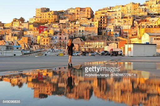 Sciacca (Sicily) : Stock Photo