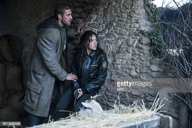 CITY 'Science and Magic' Episode 104 Pictured Oliver Jackson Cohen as Lucas Adria Arjona as Dorothy
