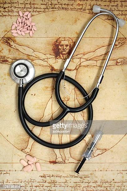 Wissenschaft und Medizin-Konzept