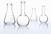 Science beakers