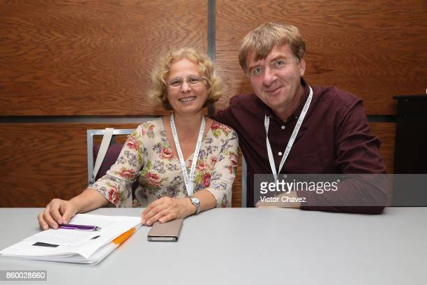 Science director research centre for TB Minsk Belarus Dr Alena Skrahina and guest attend the TB Alliance Stakeholders Association Annual Meeting at...