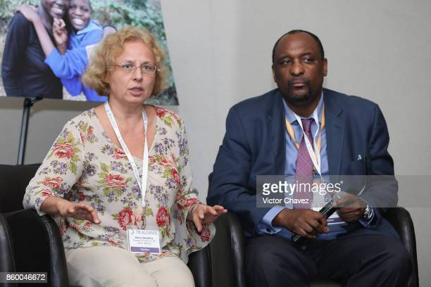 Science director research centre for TB Minsk Belarus Dr Alena Skrahina and Director DrugResistant TB TB HIV MoH South Africa Dr Norbert Ndjeka...