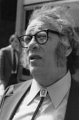 US science fiction writer Isaac Asimov