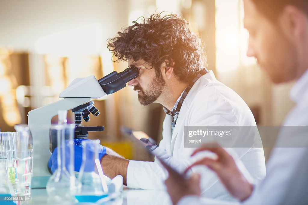 Science lab : Stock Photo