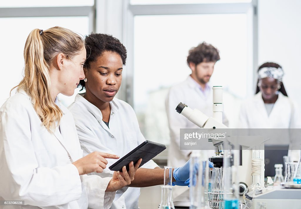 Science Laboratory : Stock Photo