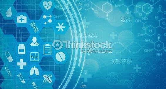 concepto de fondo de medicina de la ciencia : Foto de stock