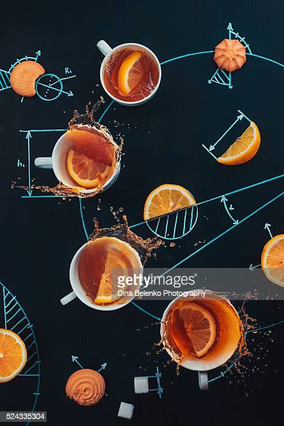 Science of lemon tea