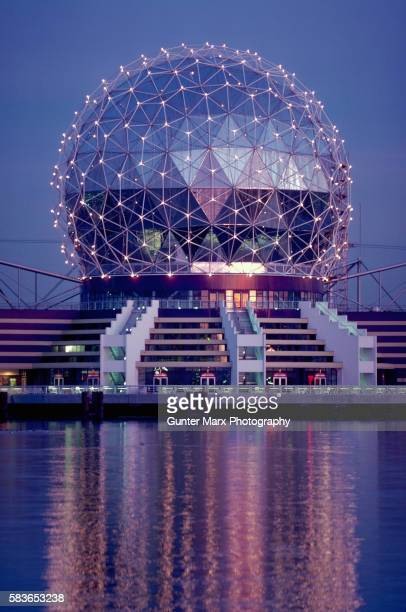 Science World at Night, Vancouver