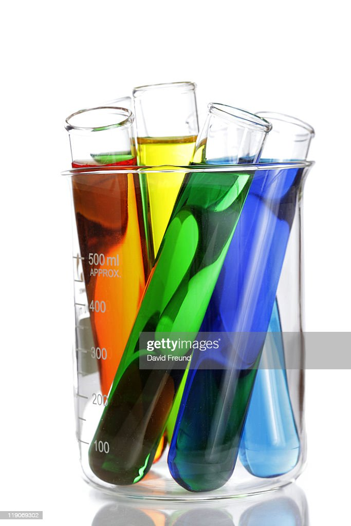 Scientific Laboratory Glassware : Stock Photo