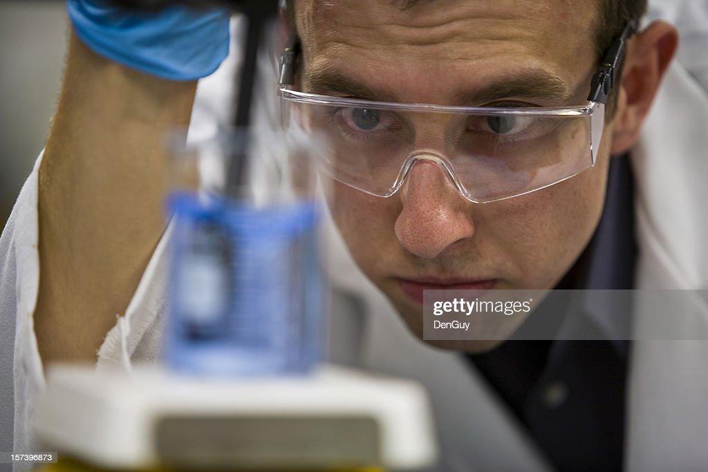 Scientific Research Chemist in Lab