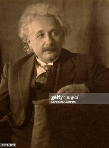 Scientist Albert Einstein poses for a portrait in 1931