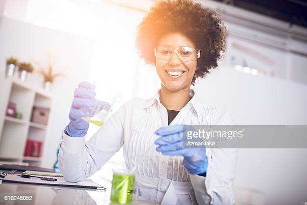Scientist and proud