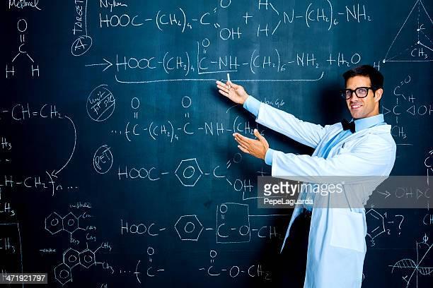 Wissenschaftler, die Chemie