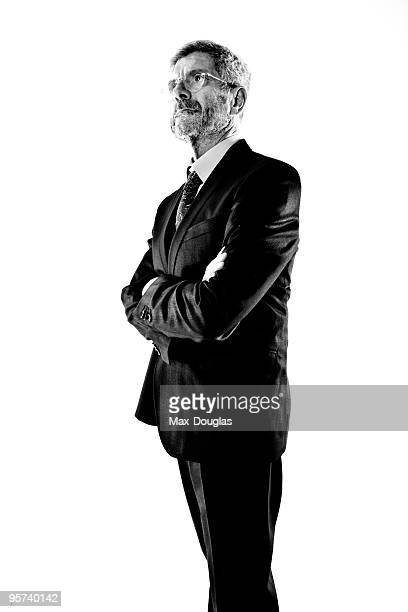 Scientist Giovanni Bignami poses for a portrait in shoot in Milan on May 20 2009