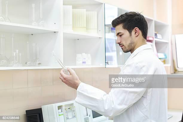 Wissenschaftler Arbeiten im Labor
