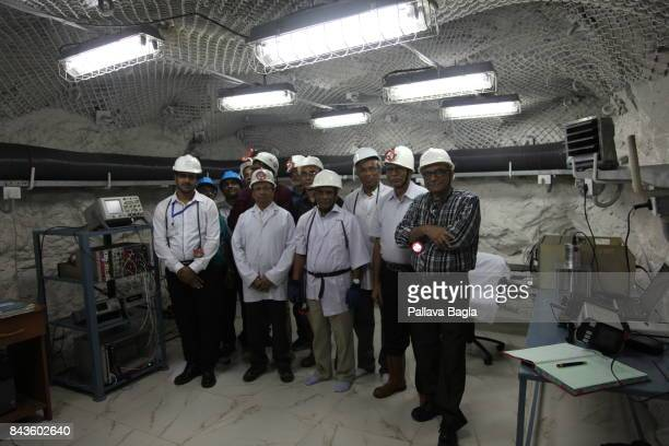 JADUGODA JHARKAHND INDIA SEPTEMBER 02 Scientists who founded the new lab India has inaugurated its deepest underground lab located half a kilometre...