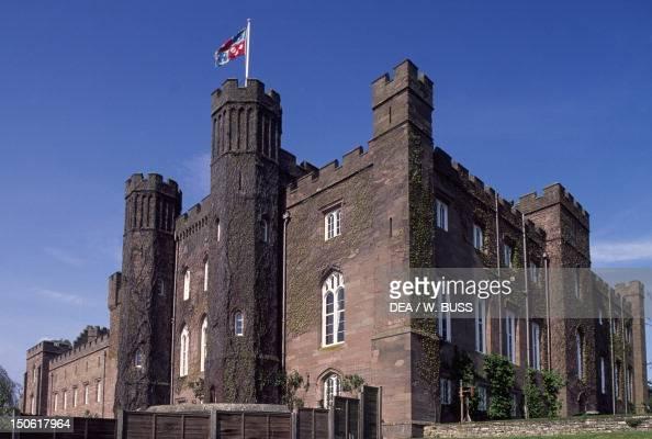 Perth United Kingdom  City new picture : Scone Palace in Perth, Scotland, United Kingdom, 19th century