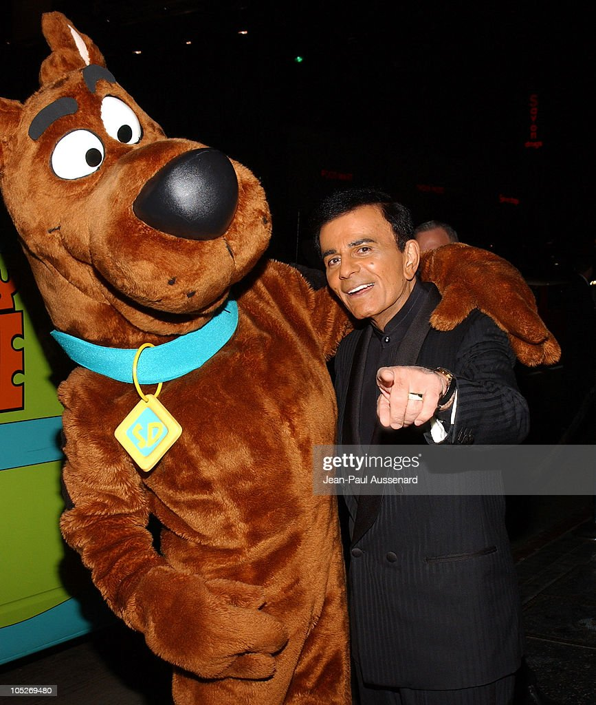 Scooby Doo and <a gi-track='captionPersonalityLinkClicked' href=/galleries/search?phrase=Casey+Kasem&family=editorial&specificpeople=1545344 ng-click='$event.stopPropagation()'>Casey Kasem</a> during The 3rd Annual DVD Exclusive Awards at The Wiltern Theater LG in Los Angeles, California, United States.