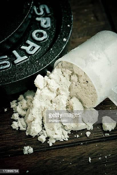 スクープリブのタンパク質とウエイト