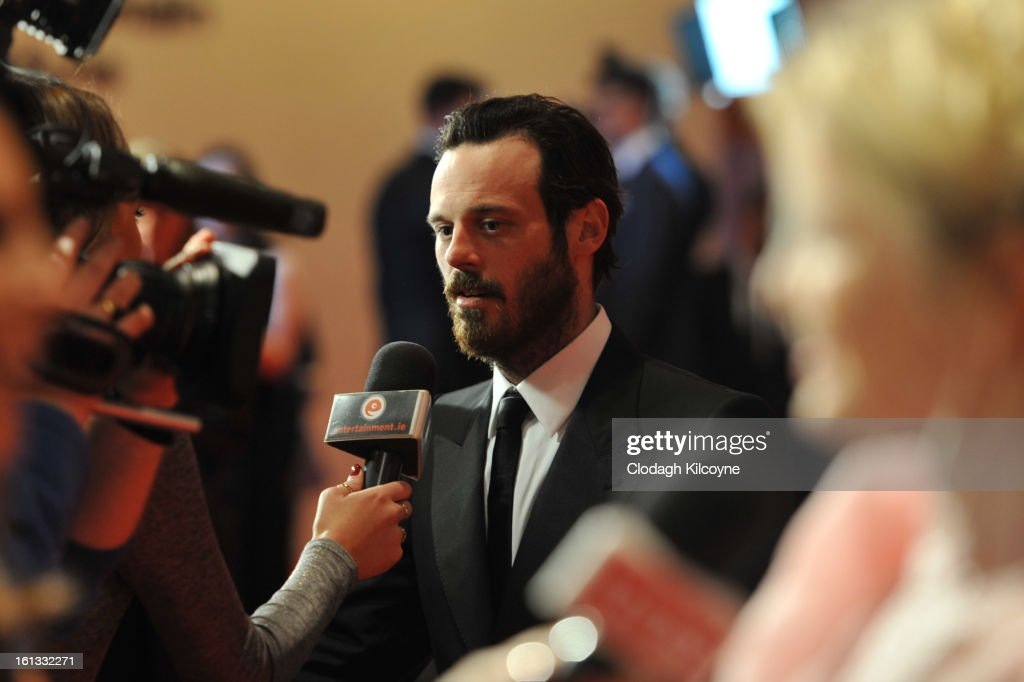 <a gi-track='captionPersonalityLinkClicked' href=/galleries/search?phrase=Scoot+McNairy&family=editorial&specificpeople=2081198 ng-click='$event.stopPropagation()'>Scoot McNairy</a> attends the Irish Film and Television Awards at Convention Centre Dublin on February 9, 2013 in Dublin, Ireland.