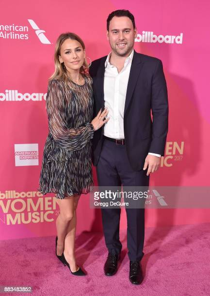 Scooter Braun and Yael Cohen arrive at the Billboard Women In Music 2017 at The Ray Dolby Ballroom at Hollywood Highland Center on November 30 2017...