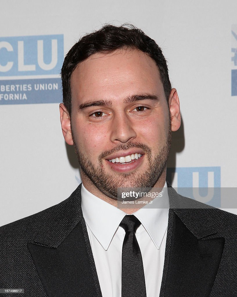 Scooter Braun attends the ACLU of Southern California's 2012 Bill of Rights Dinner held at the Beverly Wilshire Four Seasons Hotel on December 3, 2012 in Beverly Hills, California.
