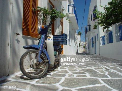 Scooter in Greek Street