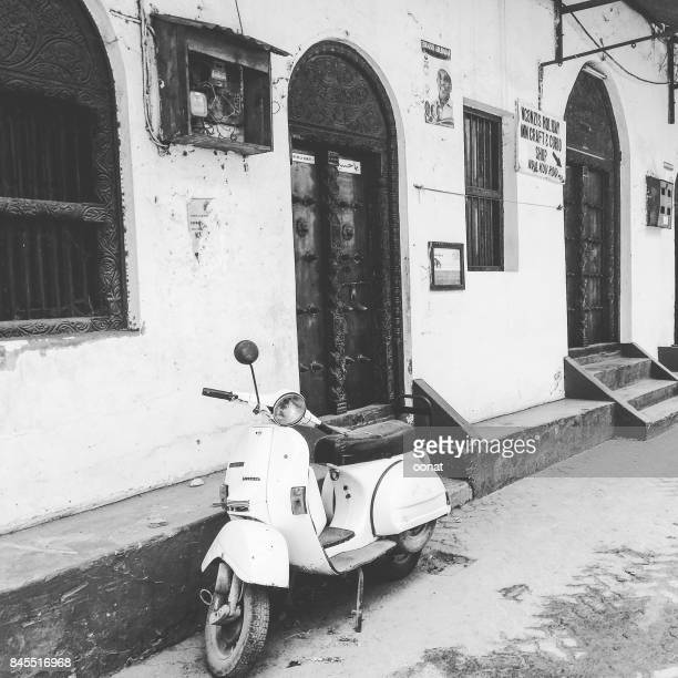 Scooter, Old Town, Mombasa