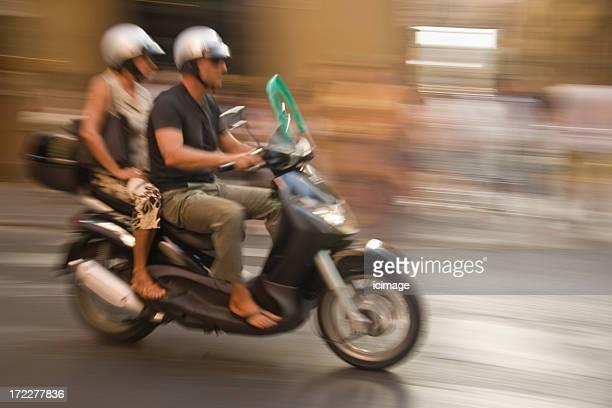 Scooter atleti a Firenze