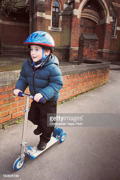 Scooting home