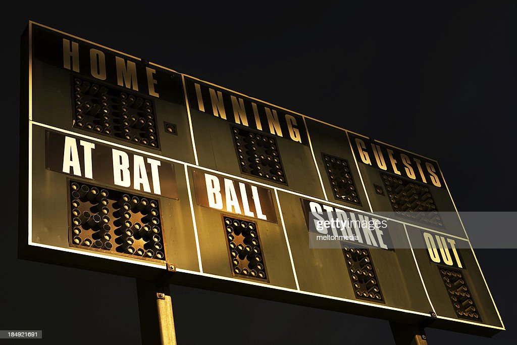 Scoreboard : Stock Photo