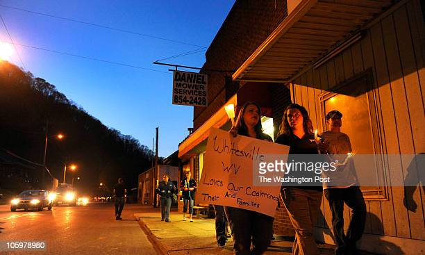 Scores of people from across the region walked through Whitesville to remember the victims of the mine explosion and those still missing the At least...