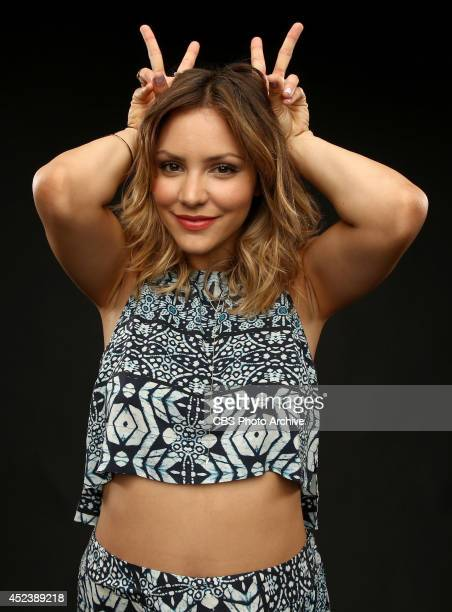 CBS' 'Scorpion' actress Katharine McPhee poses for a portrait during CBS' 2014 Summer TCA tour at The Beverly Hilton Hotel on July 17 2014 in Beverly...