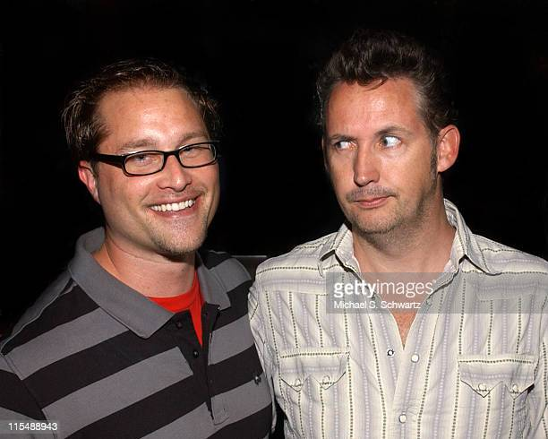 Scot Richardson President of Comedy Juice and Harland Williams