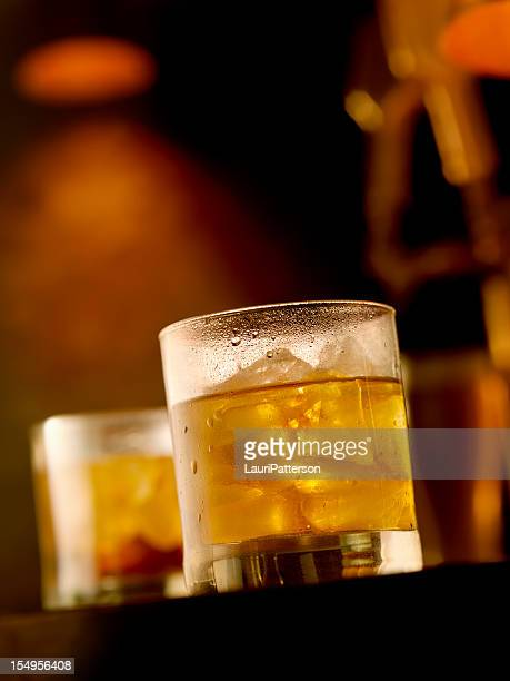 Scotch and Water on the Rocks