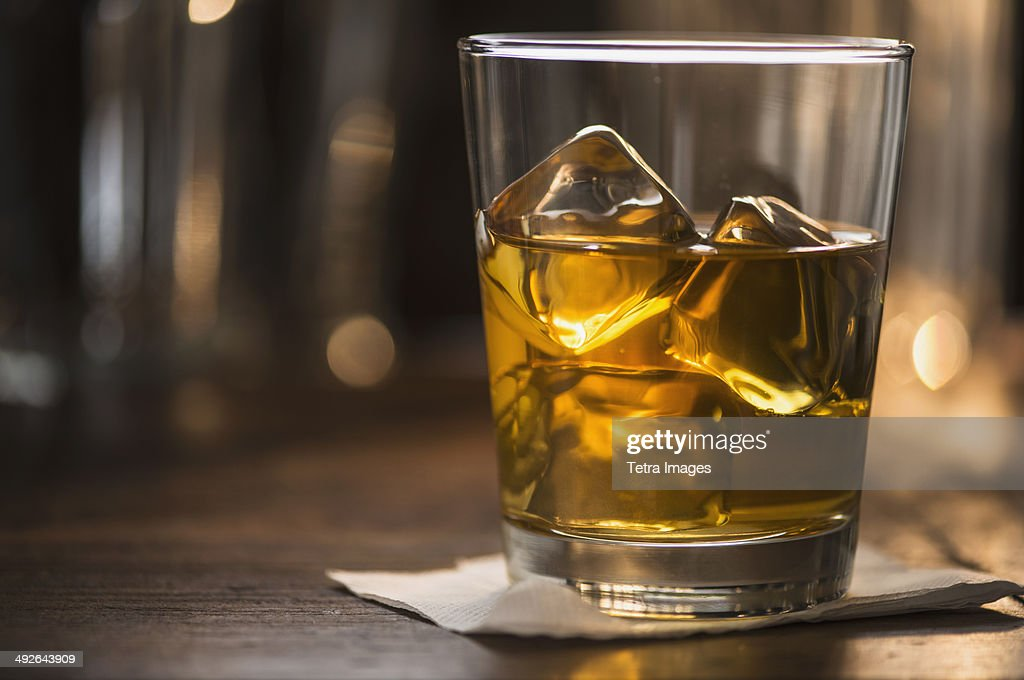 Scotch with ice