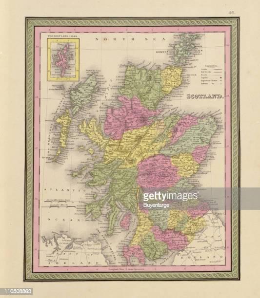 Scotland 1849 Illustration by S Augustus Mitchell
