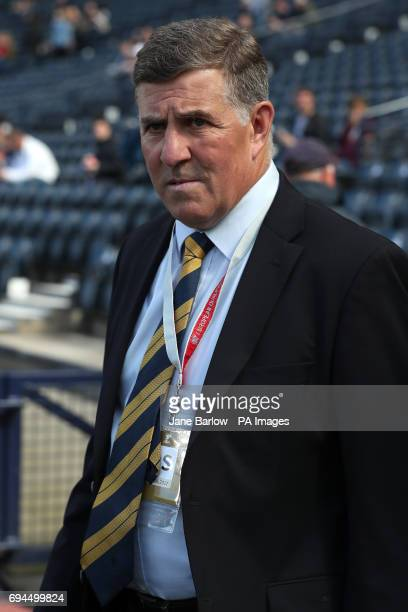 Scotland assistant manager Mark McGhee before the 2018 FIFA World Cup qualifying Group F match at Hampden Park Glasgow
