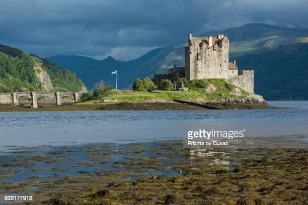 Scotland Dornie Eilean Donan Castle west