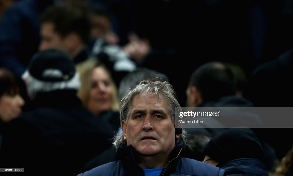 Scotland Head Coach <a gi-track='captionPersonalityLinkClicked' href=/galleries/search?phrase=Scott+Johnson&family=editorial&specificpeople=586938 ng-click='$event.stopPropagation()'>Scott Johnson</a> during the RBS Six Nations match between France and Scotland at Stade de France on March 16, 2013 in Paris, France.