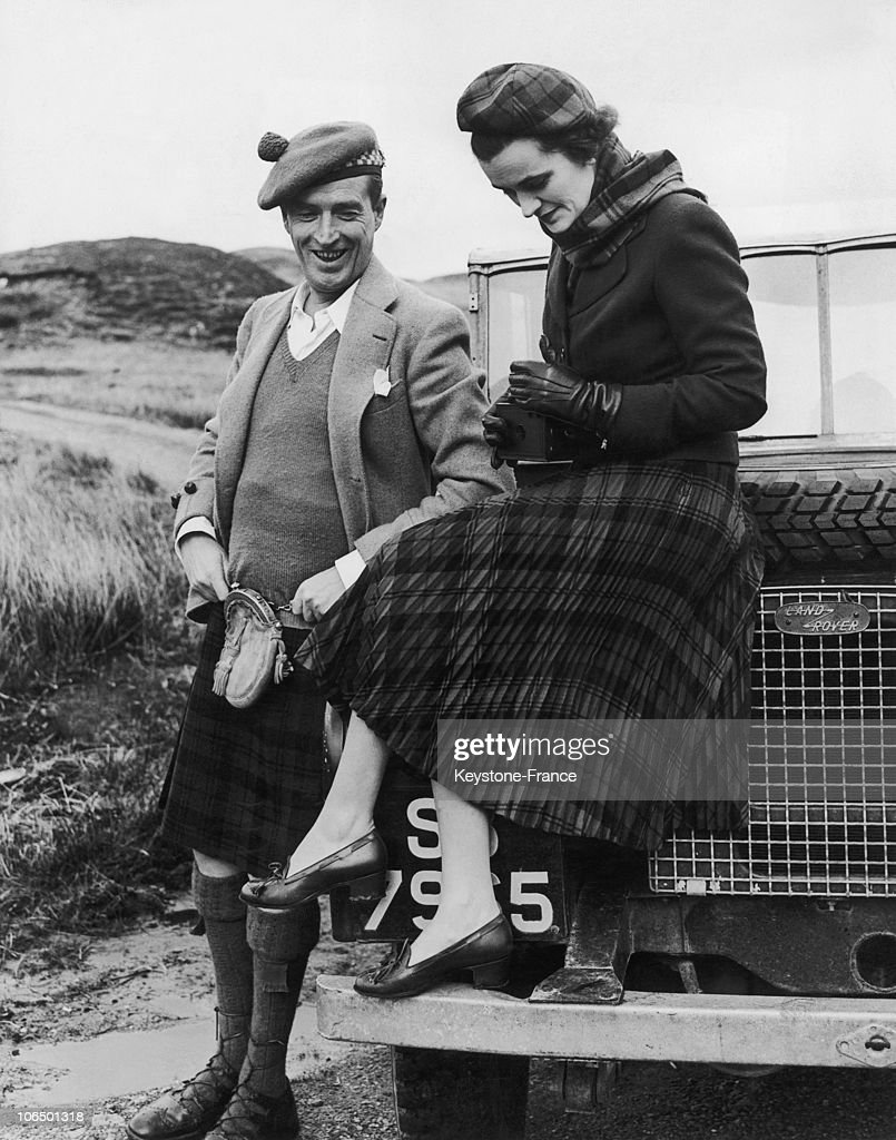 Johnny Hallyday Death >> Scotland, Ian Campbell, 11Th Duke Of Argyll And Margaret Campbell, Duchess Of Argyll. April 1952 ...